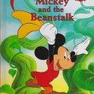 Disney's World Of Reading MICKEY AND THE BEANSTALK (HC) 0717289656 (Like New)