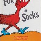 Dr. Seuss FOX IN SOCKS (HC) 0394900383 (Like New)
