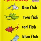 Dr. Seuss ONE FISH TWO FISH (HC) 60-7180 (Like New)