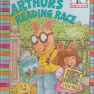 Marc Brown ARTHUR'S READING RACE (HC) 0679867384 (Like New)
