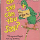 Dr. Seuss OH SAY CAN YOU SAY? (HC) (Acceptable/Readers)