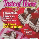 TASTE OF HOME Cooking Magazine April 2005 Back Issue