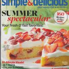 SIMPLE & DELICIOUS Magazine June/July 2013 Back Issue (Taste Of Home Cooking)