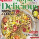 SIMPLE & DELICIOUS Magazine Aug/Sept 2013 Back Issue (Taste Of Home Cooking)
