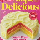 SIMPLE & DELICIOUS Magazine Feb/Mar 2014 Back Issue (Taste Of Home Cooking)