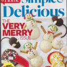 SIMPLE & DELICIOUS Magazine Dec/Jan 2014 Back Issue (Taste Of Home Cooking)