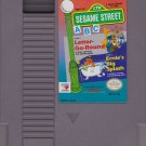 SESAME STREET ABC Nintendo (NES) CARTRIDGE ONLY! Letter-Go-Round & Ernie's Big Splash