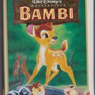 BAMBI Walt Disney's Masterpiece Collection VHS Clamshell 9505