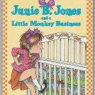 Junie B. Jones #2 AND A LITTLE MONKEY BUSINESS Barbara Park RL2.9 PB (Good / Gently Used)