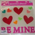 NEW - Gel Window Clings / Valentine's Day Decorations
