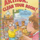 ARTHUR, CLEAN YOUR ROOM Step Into Reading Sticker Book (PB) 0375808736 (Good/Gently Used)