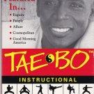 Billy Blanks TAE BO INSTRUCTION Original 1998 VHS