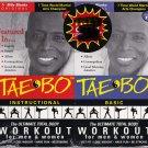 NEW - Billy Blanks TAE BO INSTRUCTION & BASIC SET Original 1998 VHS