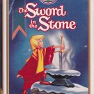 THE SWORD IN THE STONE Walt Disney's Masterpiece Collection VHS Clamshell 229