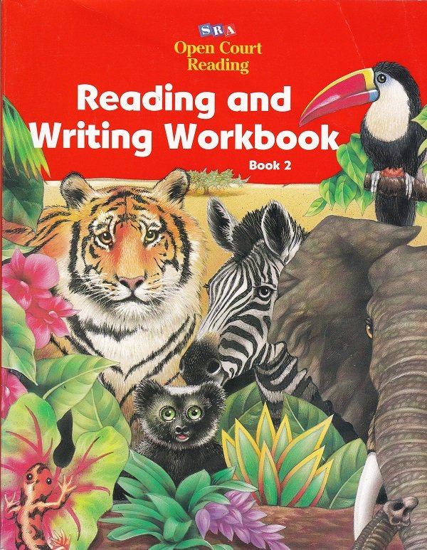 Open Court Reading READING AND WRITING WORKBOOK Level 1 Book 2