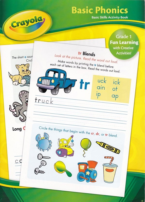 Crayola BASIC PHONICS Grade 1 (Workbook)