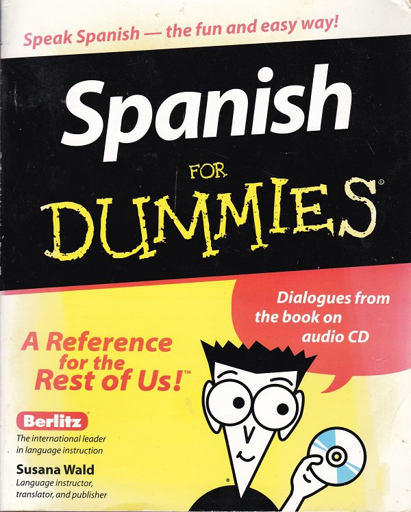 SPANISH FOR DUMMIES With CD (PB) (Acceptable/Readers)