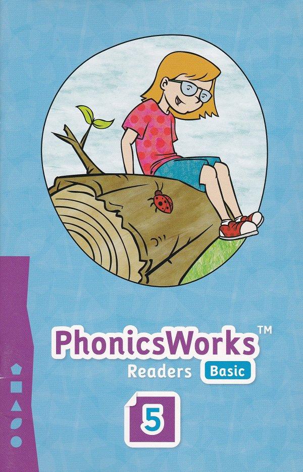 PhonicsWorks Basic Readers #5 (PB) K12