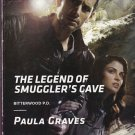 Paula Graves THE LEGEND OF SMUGGLER'S CAVE Bitterwood P.D. #6 - PB Larger Print (Acceptable/Readers)