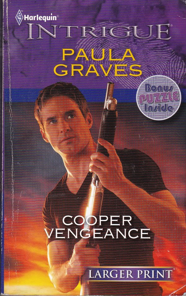 Paula Graves COOPER VENGEANCE Cooper Justice Series #7 - PB Larger Print (Acceptable/Readers)