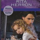 Rita Herron THE MISSING TWIN Guardian Angel Investigations Lost And Found #1 - PB Larger Print