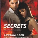 Cynthia Eden SECRETS Battling McGuire Boys #2 - PB Larger Print (Acceptable/Readers) Intrigue