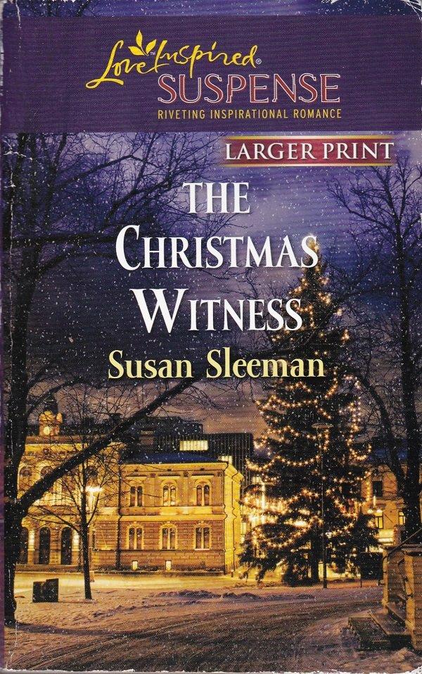 Susan Sleeman THE CHRISTMAS WITNESS Morgan Brothers Series #3 - PB Larger Print (Acceptable/Readers)