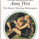 Annie West THE TEXAN'S BRIDE Seven Sexy Sins Series #5 - PB Larger Print (Good / Gently Used)