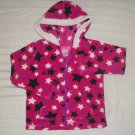 EUC - Girls YOUNG HEARTS 4T Pink Hearts Hooded Sweater with Long Sleeves
