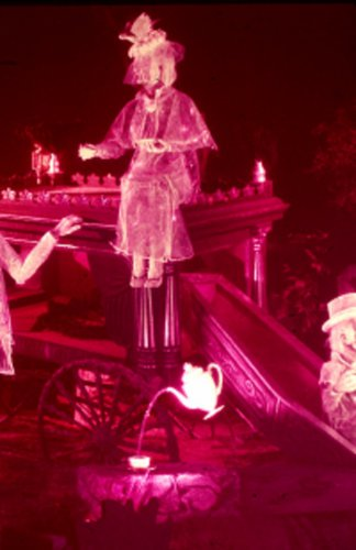 Disneyland 35mm GHOSTLY TEA PARTY Souvenir Slide PANA-VUE (Vintage) VP741