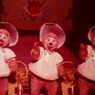 Disneyland 35mm BUNNY, BUBBLES, BEULAH Souvenir Slide PANA-VUE (Vintage) VP753