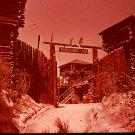 Disneyland 35mm FORT WILDERNESS Souvenir Slide (1972) 0665