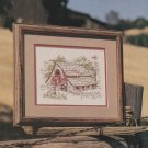 WESTERN BARN Cross-Stitch Single Pattern ONLY American Barns Series 3 0f 3 FREE SHIPPING