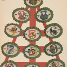 TWELVE DAYS OF CHRISTMAS Cross-Stitch Single Pattern ONLY 12 Designs FREE SHIPPING