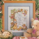 THANK YOU GOD FOR SUMMER Teddy Bears Cross-Stitch Single Pattern ONLY FREE SHIPPING