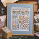 SIMPLE LIFE Sampler Cross-Stitch Single Pattern ONLY Garden Animasl Flowers
