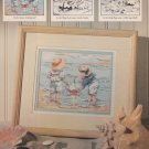 SETTING SAIL Cross-Stitch Single Pattern ONLY By The Sea Series #1 of 3 FREE SHIPPING FREE SHIPPING