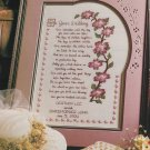 ON YOUR WEDDING Day Sampler Cross-Stitch Single Pattern ONLY FREE SHIPPING