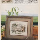 MIDWEST BARN Cross-Stitch Single Pattern ONLY American Barns Series 1 0f 3 FREE SHIPPING