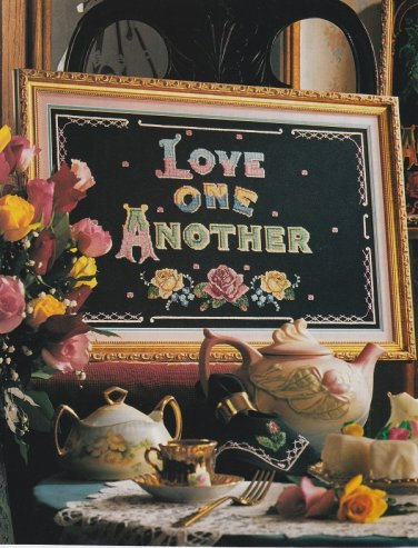 LOVE ONE ANOTHER Sampler Cross-Stitch Single Pattern ONLY