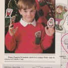 LITTLE POCKET PALS Cross-Stitch Single Pattern ONLY Christmas Santa Elf Reindeer FREE SHIPPING