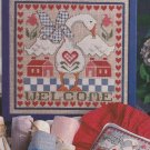 GANDER'S WELCOME Sampler Cross-Stitch Single Pattern ONLY Goose