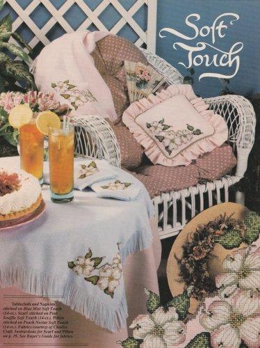 Soft Touch DOGWOOD Cross-Stitch Single Pattern ONLY Corner Flower Design FREE SHIPPING