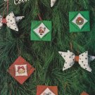 CHRISTMAS COLLECTION MINI'S Cross-Stitch Single Pattern ONLY 5 Ornaments FREE SHIPPING