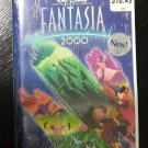 NEW / SEALED Walt Disney's FANTASIA 2000 VHS Video Clamshell FREE SHIPPING