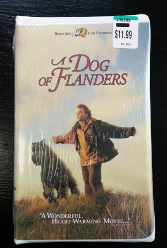 New / Factory Sealed - A DOG OF FLANDERS VHS Clamshell Jack Warden FREE SHIPPING