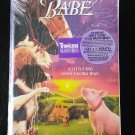 Brand New Factory Sealed BABE VHS Family Movie about a pig FREE SHIPPING