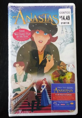 Brand New Factory Sealed ANASTASIA VHS - FREE SHIPPING