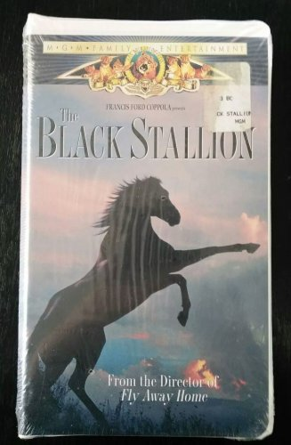 New Factory Sealed THE BLACK STALLION VHS Classic Video FREE SHIPPING