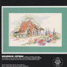 Dimensions HOLLYHOCK COTTAGE 3683 Cross-Stitch Pattern ONLY Design by Barbara Mock FREE SHIPPING